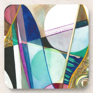 Musical Series - Jazz Quartet Beverage Coasters