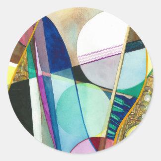 Musical Series - Jazz Quartet Sticker