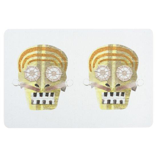 Musical Skull Floormat Floor Mat