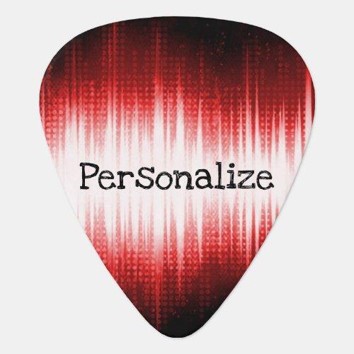 Musical Sound Wave Design _ Guitar  Guitar Pick