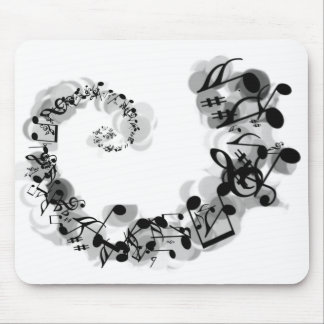 Musical Spiral Mouse Pads