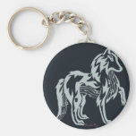 Musical Spirit Wolf Key Chain