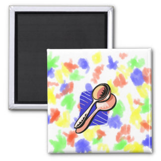 Musical Spoons Graphic Image Magnets
