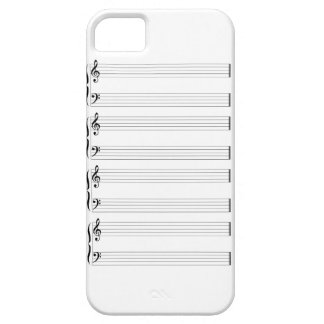 Musical Staff and Staves iPhone SE/5/5s Case