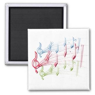 Musical Staff Magnet