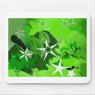 Musical_Stars_on_Green resized.PNG Mouse Pad
