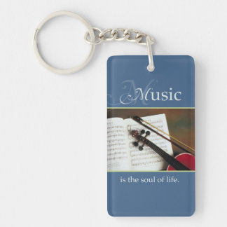 Musical Strings, The Soul of Life, Traditional Keychain