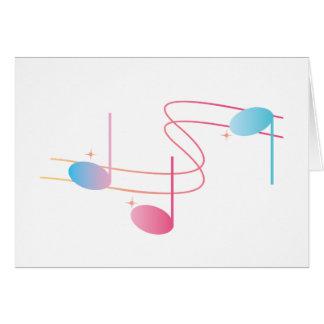 Musical Swirl Card