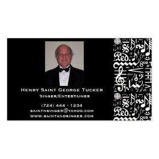 Musical Symbol Business Card