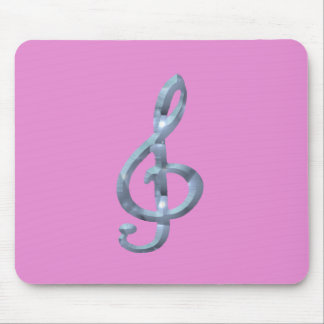 Musical Symbol Gcelf Mouse Pads