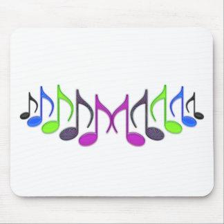 "Musical Symbol ""M"" Mouse Pad"