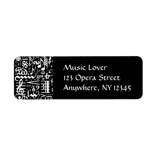 Musical Symbols Black Label