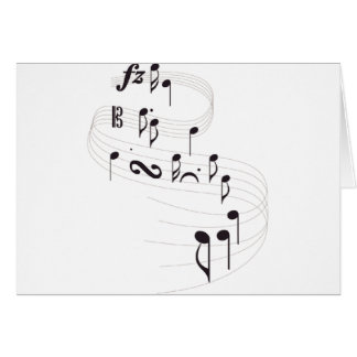 Musical Symbols Greeting Cards