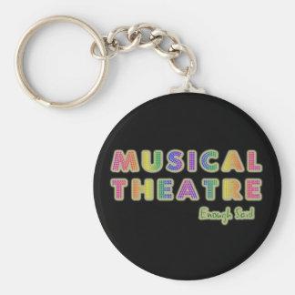 Musical Theate Enough Said Keychain