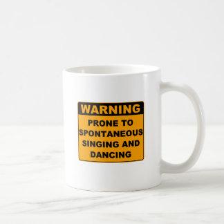 Musical Theater Classic White Coffee Mug