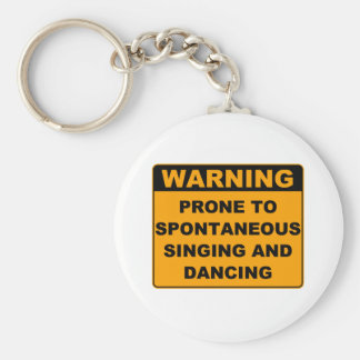 Musical Theater Keychain