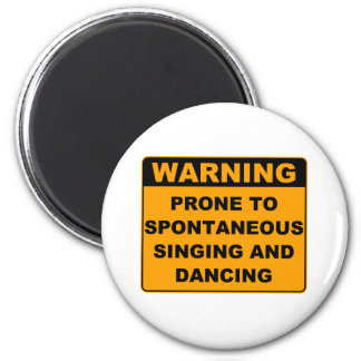 Musical Theater Refrigerator Magnet