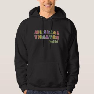 Musical Theatre Enough Said Dark Hoodie (unisex)