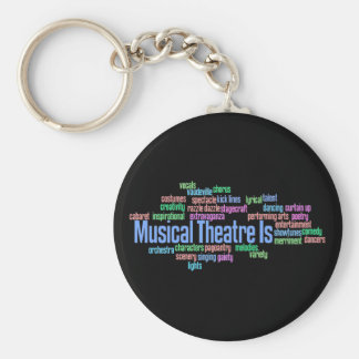 Musical Theatre Is Keychain