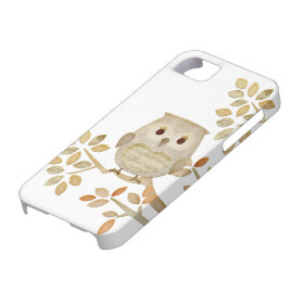Musical Tree Owl Case iPhone 5 Case