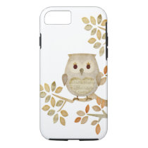 Musical Tree Owl iPhone 8/7 Case