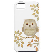 Musical Tree Owl iPhone SE/5/5s Case