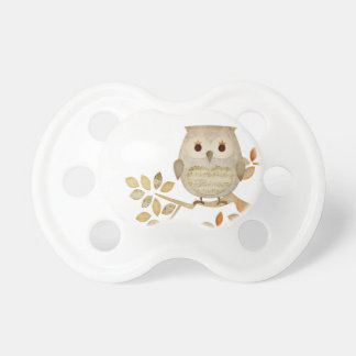 Musical Tree Owl Pacifier BooginHead Pacifier