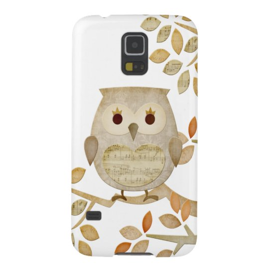 Musical Tree Owl Samsung Galaxy Nexus Case