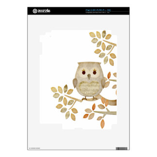 Musical Tree Owl Skins For The iPad 2