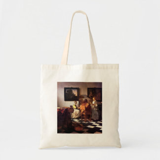 Musical Trio by Johannes Vermeer Canvas Bags