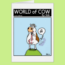 Musical Udder Fart Card