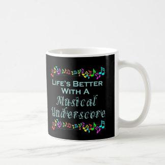 Musical Underscore Mug