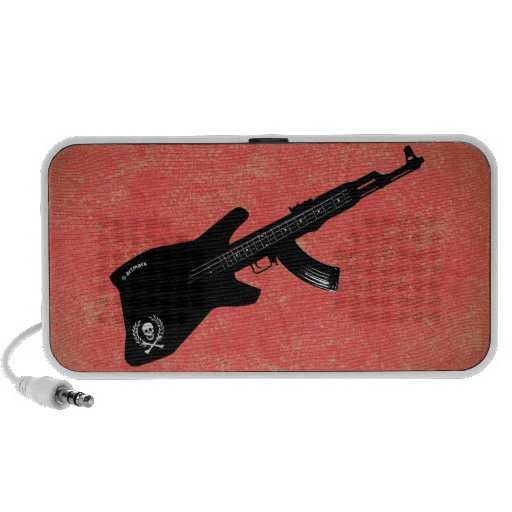 Musical Weapon iPhone Speaker