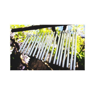 Musical Wind Chimes Photography Art Canvas