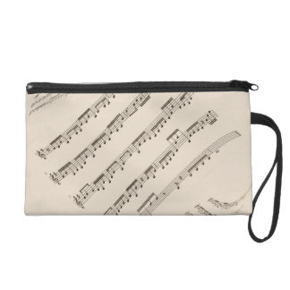 Musical Wristlet Bag