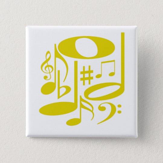 Musical Yellow Button