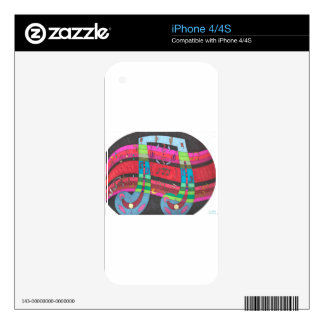 Musicality Decals For The iPhone 4S