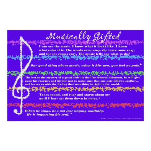 how to know if you are musically gifted