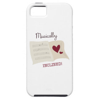 Musically Inclined iPhone 5/5S Case