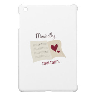 Musically Inclined Cover For The iPad Mini