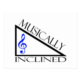 Musically Inclined Postcard