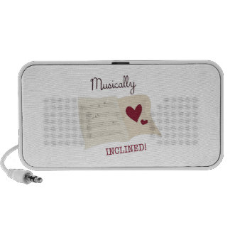 Musically Inclined Travelling Speaker