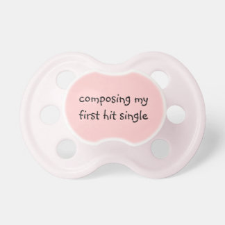 Musically Talented Child Baby Pacifier
