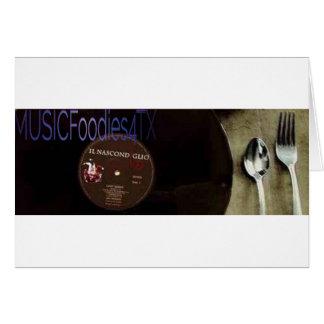 MUSICFoodies4tx Logo Card