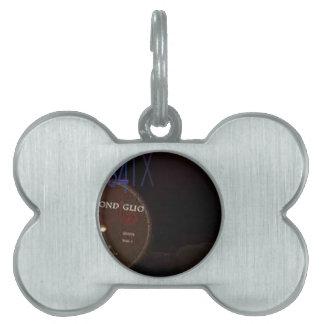MUSICFoodies4tx Logo Pet Name Tags