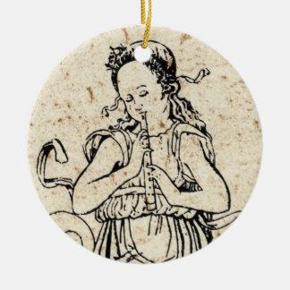 Musicha XXVI Round Ornament