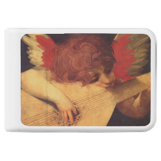 Musician Angel by Rosso Fiorentino Power Bank