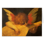 Musician Angel by Rosso Fiorentino, Vintage Art Cards