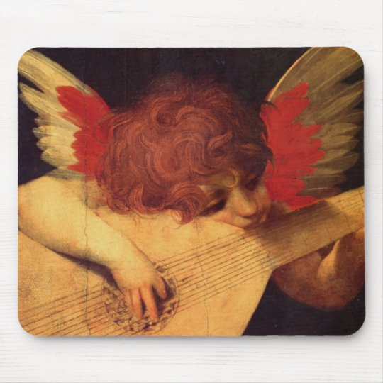 Musician Angel Mouse Pad