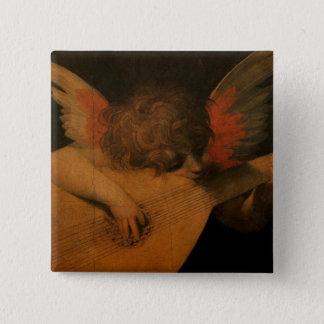 Musician Angel Pinback Button